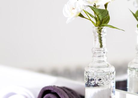 Stilvoll eingerichtetes Hotelzimmer la belle epoche