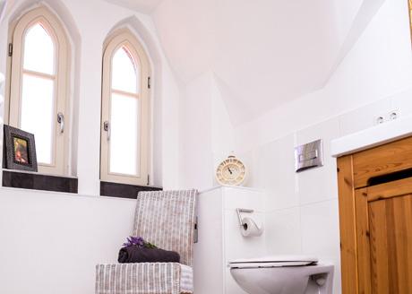 Badezimmer Hotelzimmer Dömitz